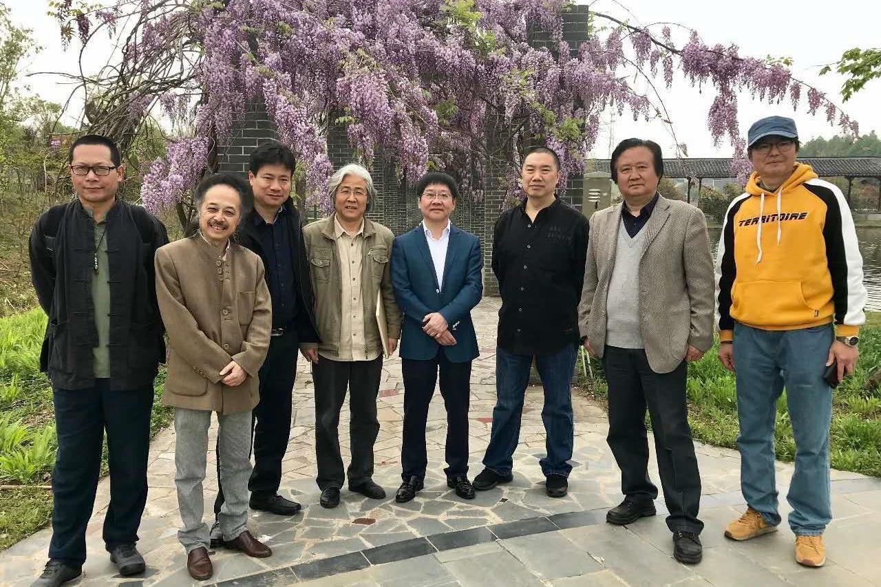 外师造化—江苏省中国画学会艺术家走进南京万成生态园写生采风