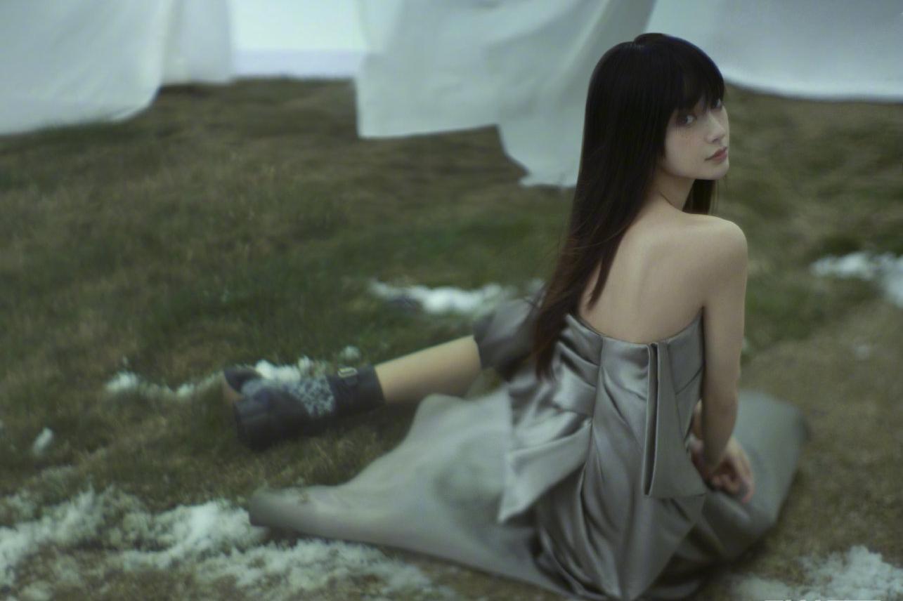 Angelababy时尚雀斑妆