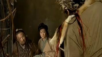 木高峰以林平之为威胁,逼迫林震南夫妇交出辟邪剑谱