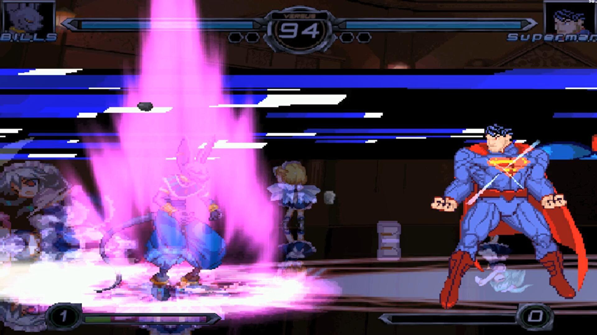 龙珠大战DC:第七宇宙破坏神比鲁斯,对阵正义联盟超人,谁更强