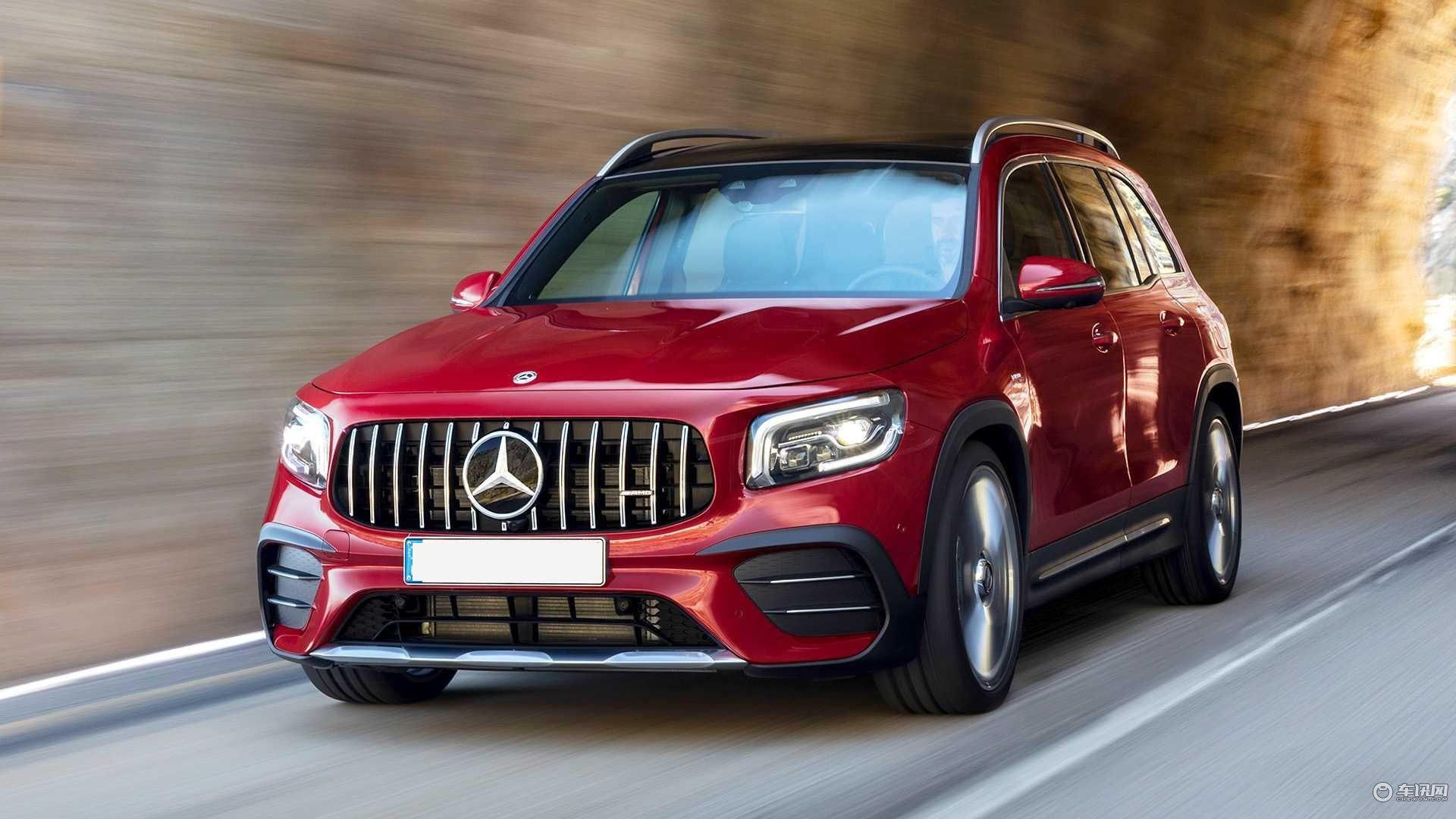 奔驰最便宜的7座AMG车型,5.2秒破百,预计2020年年初上市