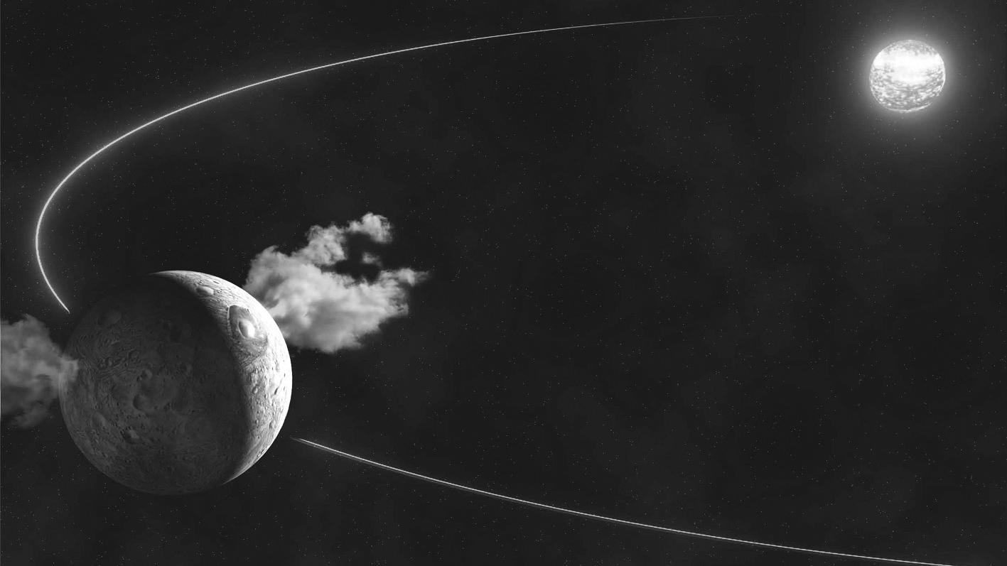 谷神星作为存在感很低的行星,但它却拥有水资源,或还会有生命!