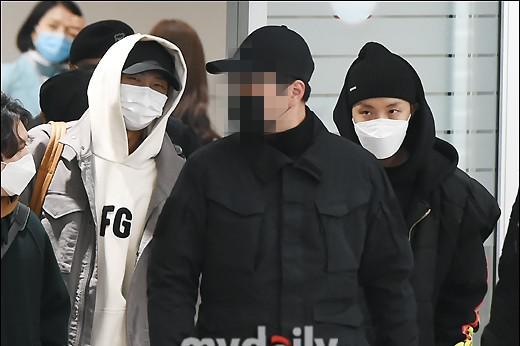 韩国偶像组合防弹少年团结束海外行程回国