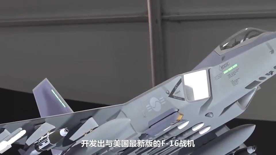 韩宣自研4.5代机可比肩F35,成本仅是美一半,可挂载4枚空空导弹