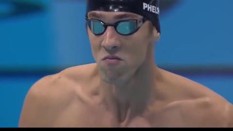 回顾:菲尔普斯在100米蝶泳获得金牌,太精彩了!厉害