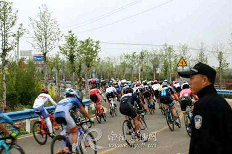 """2019年""""体彩·环中原""""自行车赛在淅川公开赛开赛"""
