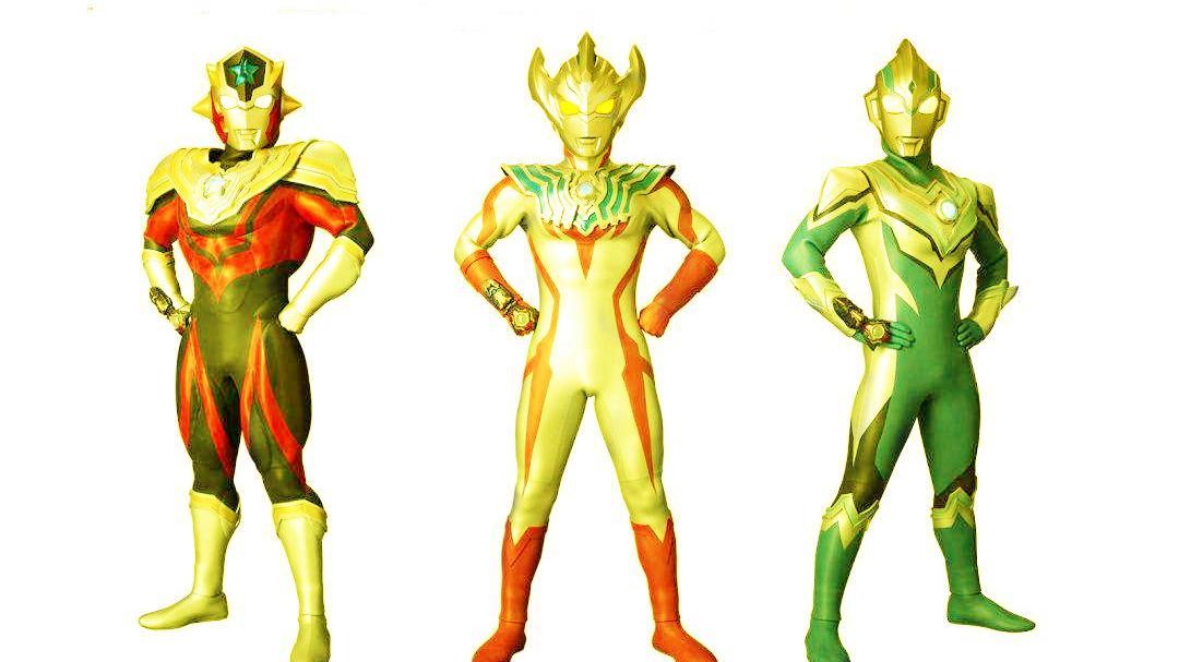泰迦、泰塔斯、风马都有新形态!3个黄金战士,直接秒杀托雷基亚