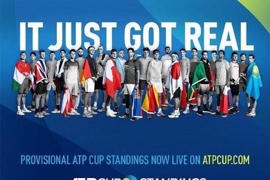 ATP杯B组出线形势 西班牙优势巨大 日本争小组第二