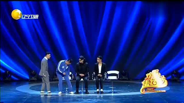宋晓峰饰演男一号,一出场就把大伙逗乐了,不愧是喜剧天才-