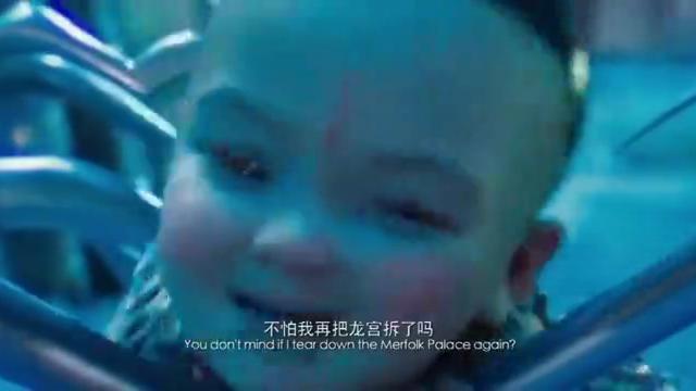 哪吒大闹东海龙宫,虾兵蟹将竟被他当食物啃,这也太生猛无比了!