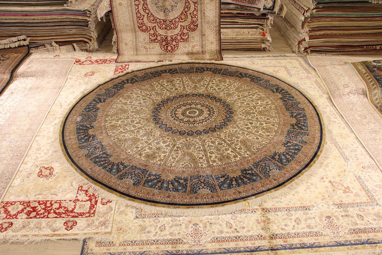 经典手工地毯,居家生活中最亮丽的一道风景
