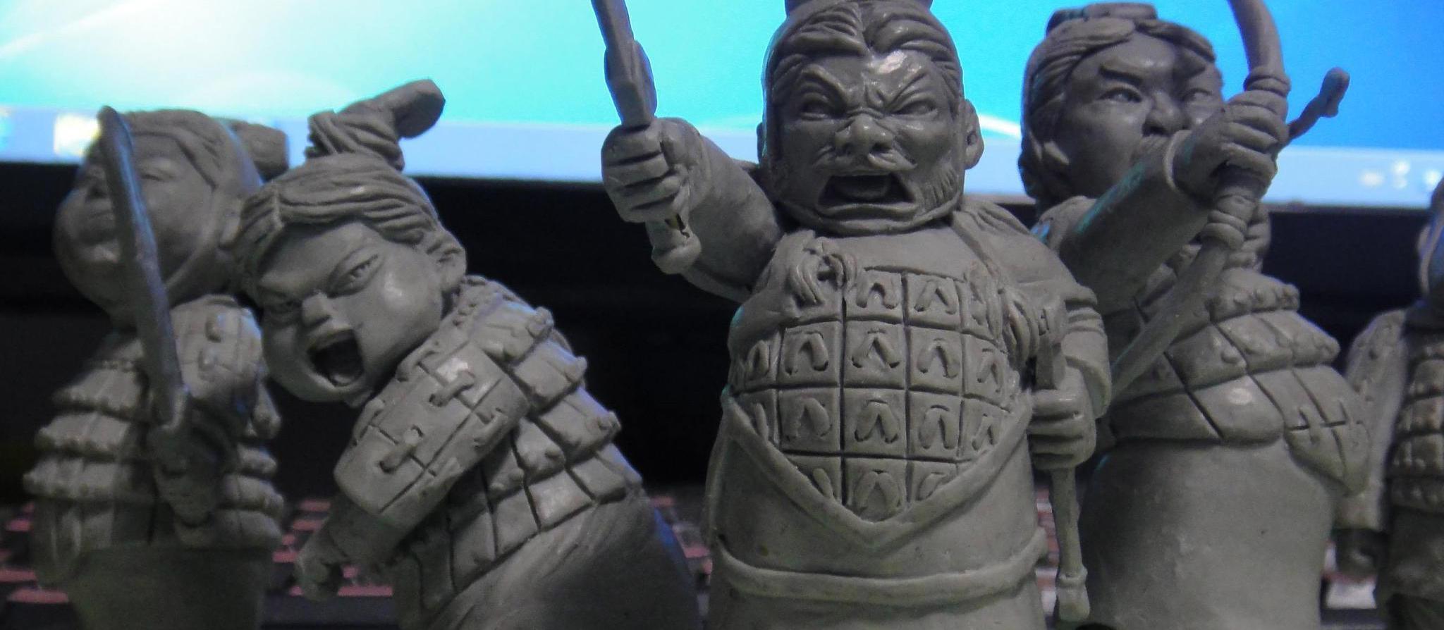 """囧哥:可""""变脸""""的兵马俑雕像"""