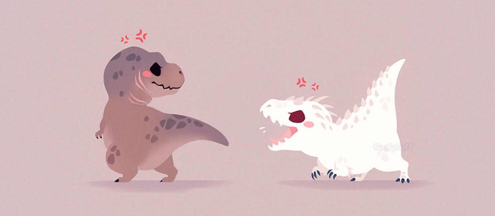 囧哥:恐龙足迹竟因此被毁