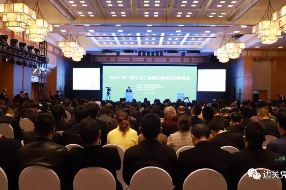 王方红率队参加2019广西—浙江(长三角地区)投资合作洽谈会