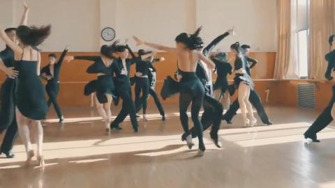 看看北京舞蹈学院国标舞期末考试,真的超级专业,学生又美又帅