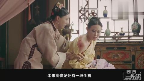 璎珞设计烫伤高贵妃想给她个教训为何她死了叶天士说出了真相