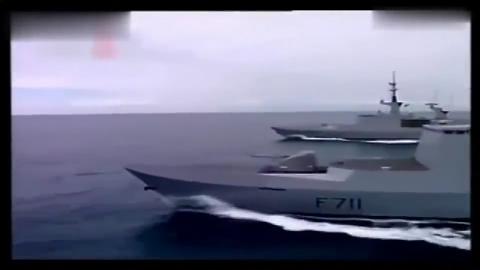 拉斐特级强于隐身舰载直升机找不到家险坠海