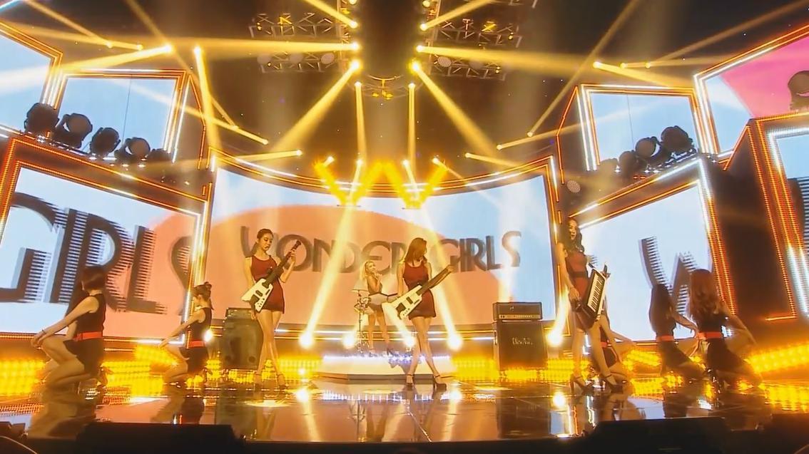 只是等着 要去见你!150815 Wonder Girls-I Feel You 莫笑中字