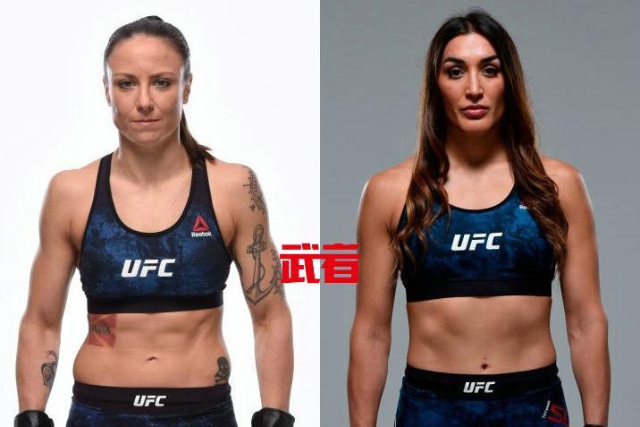 UFC 238:不败女将塔蒂亚娜·苏亚雷斯vs妮娜·安萨罗福