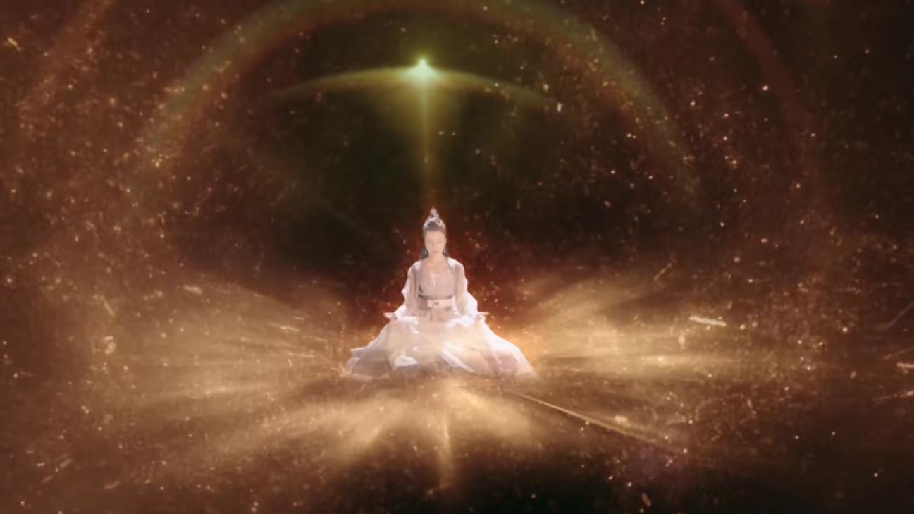三界最强法阵启动,一名仙女虚空中诞生,现身那一刻惊艳全场