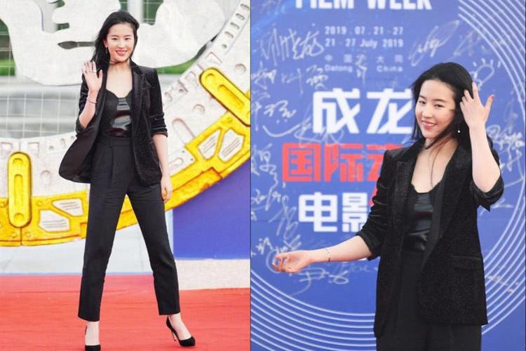 刘亦菲晒健身照素颜出镜瘦身成功颜值回春,曾因发福被嘲像大妈