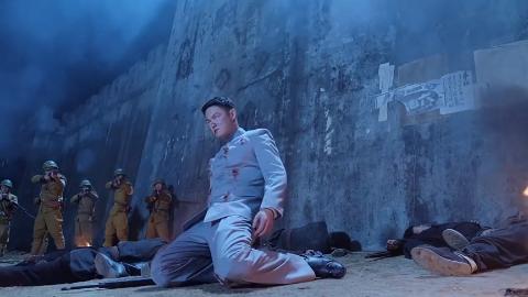 中国男人誓死也不愿做日本人的俘虏,最后一刻打中了日本军官