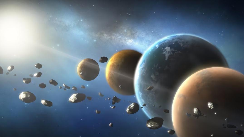 """宇宙就像""""无底洞"""",是什么力量让地球悬浮空中?我们会掉下去吗"""