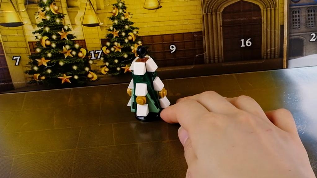 乐高哈利波特倒数日历第4天:大号圣诞树