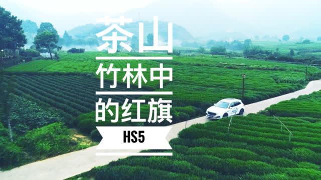 茶山竹林中的红旗HS5   爽爽侃车