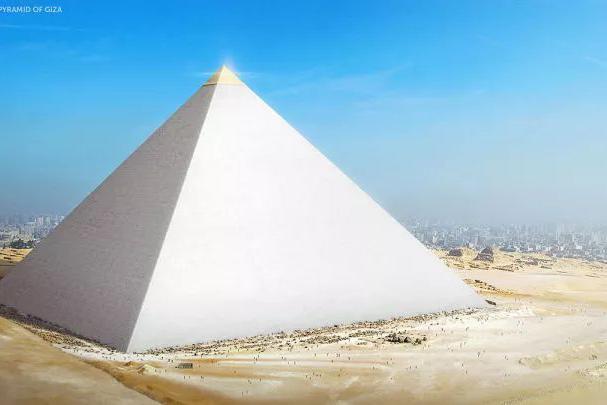 """艺术家""""重建""""古代七大奇迹,金字塔原来这么美!"""