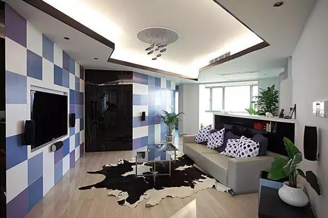 现代简约三居室的装修,酒柜竟然还能这么设计,真是厉害