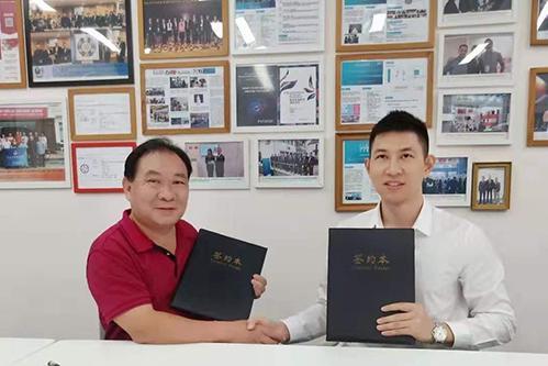 深圳前海蔚蓝与深圳华亚中心签署生物医学国际论坛合作协议