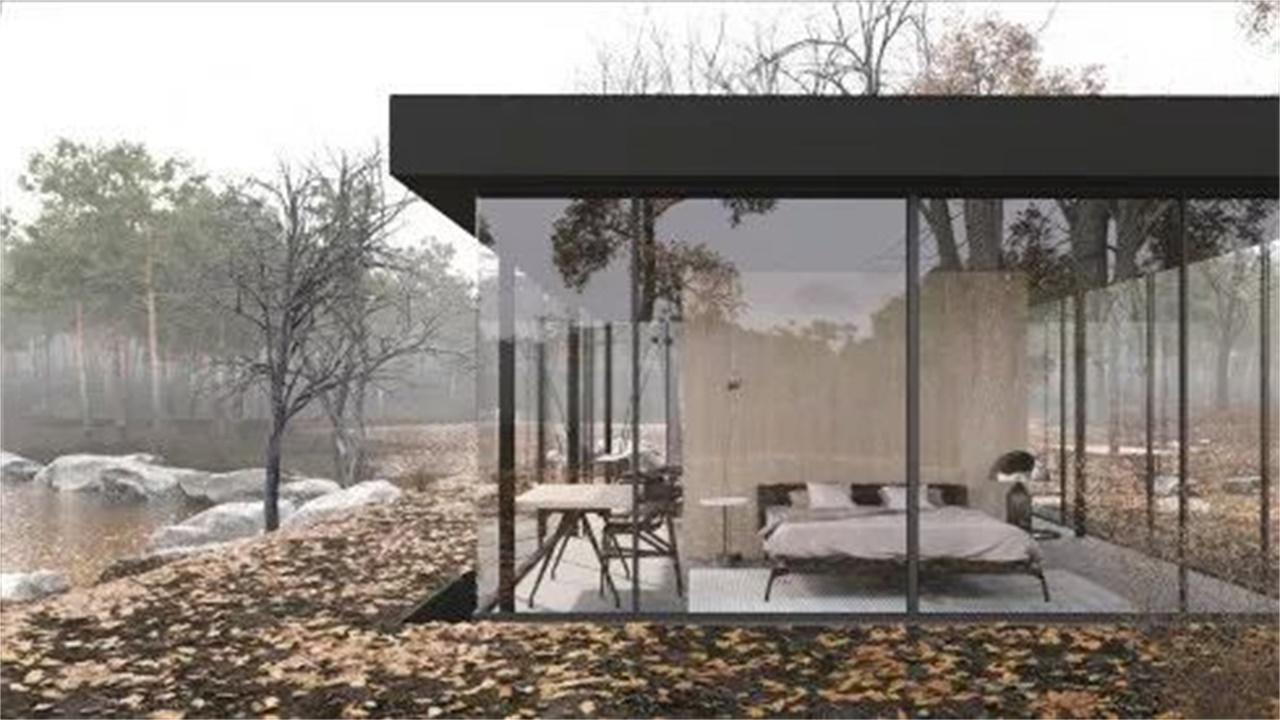国外发明可自动升降的房子,白天在地面晚上住地下,停电了咋办?