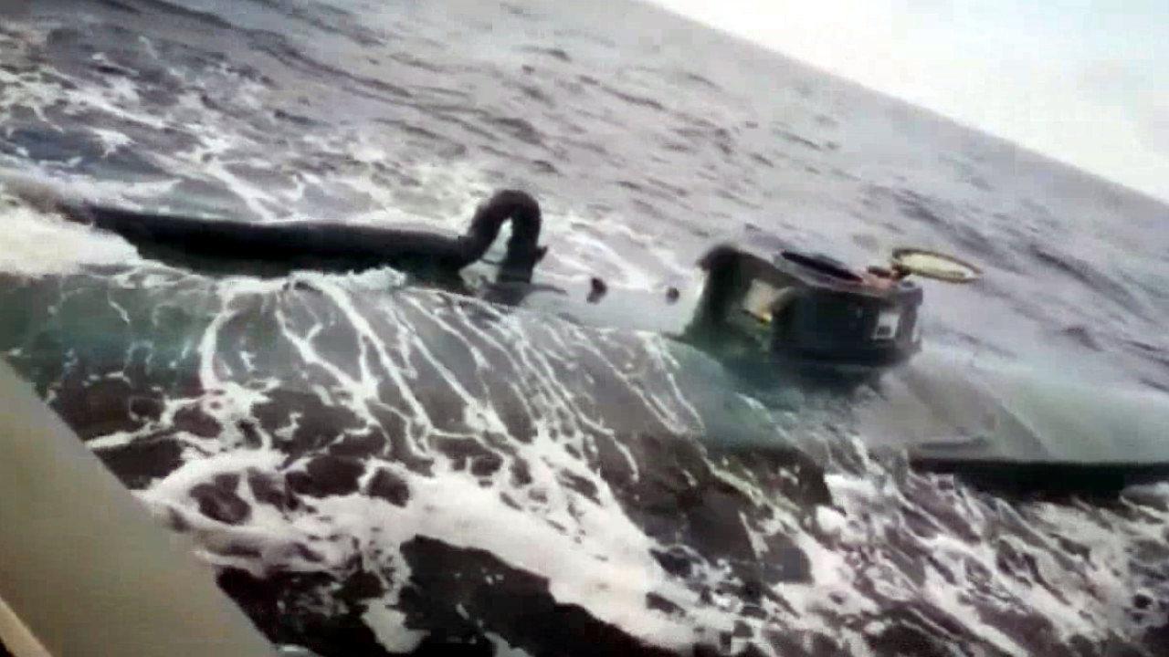 大案!8吨可卡因藏潜艇内运抵美国前被缴 黑市交易价可达5亿美元