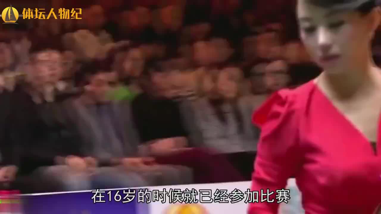 潘晓婷因身体碰到球犯规,自己还一脸无辜慢镜头回放太尴尬了