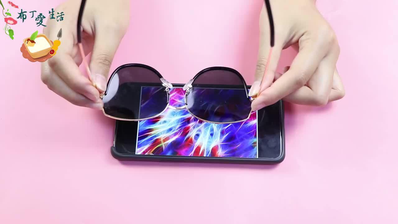 为什么买太阳镜时要照一照手机一般人不懂怎么回事早学早有利