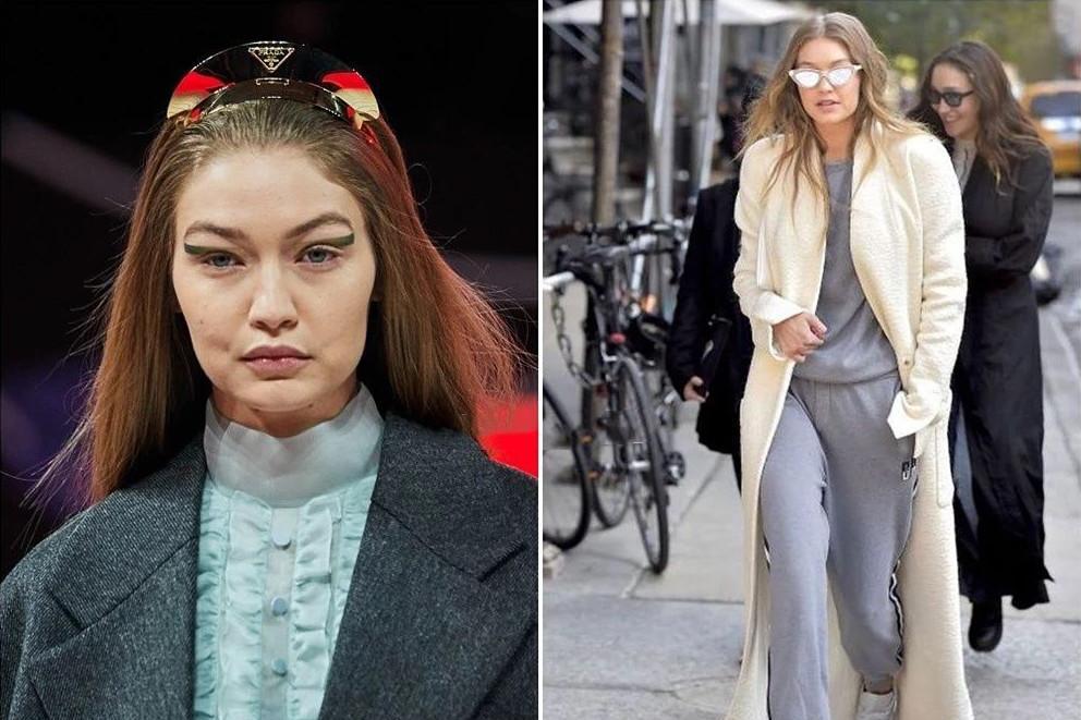 """超模Gigi的脸""""垮""""上热搜,才刚刚25的她,看起来竟然像52!"""