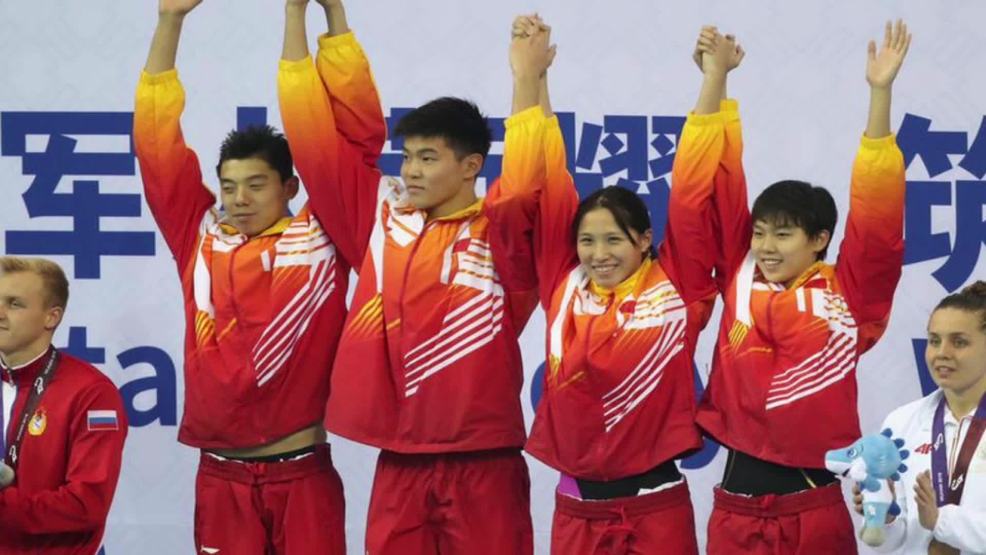 实力见证!中国队再添三金四银创两项纪录 杨浚瑄夺第六冠