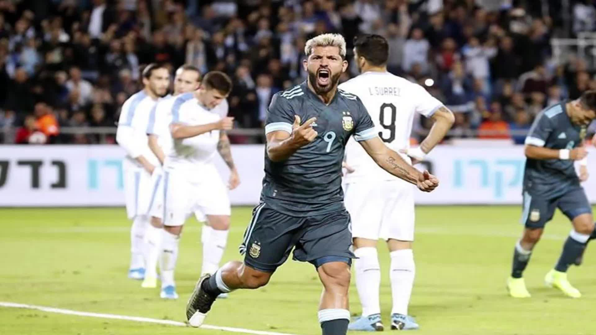 热身赛阿根廷战平乌拉圭 关键时刻梅西补时点球扳平比分