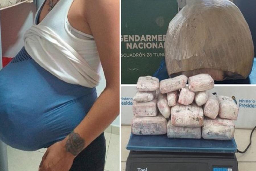 硬核孕妇:孕肚变毒品,欲走私4公斤大麻被逮捕