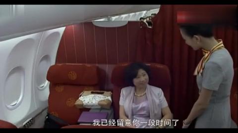 空姐飞机上给乘客倒茶,不料对方是总裁夫人开口就让她进豪门