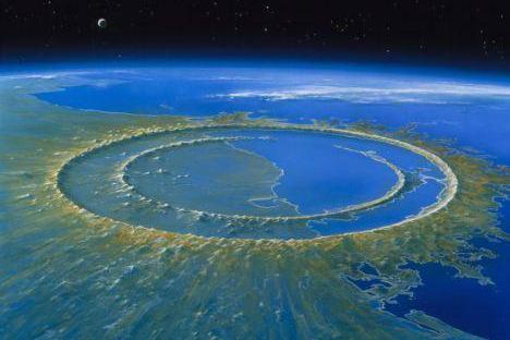 世界上最大的陨石坑——希克苏鲁伯陨石坑