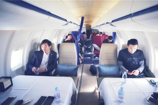 坐赵本山同款的私人公务机旅行,老百姓永远不知道的云端梦幻生活