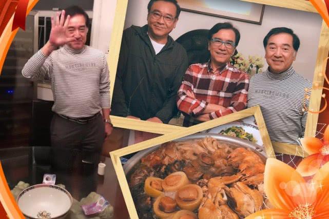 秦沛姜大伟尔冬升3家人齐聚吃团年饭 三兄弟难得开心同框合影