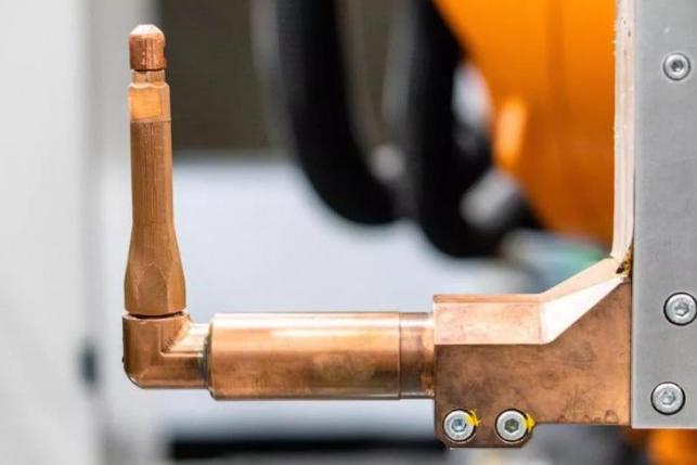 Markforged突破性的挤出式铜3D打印,可降低电动汽车零件成本