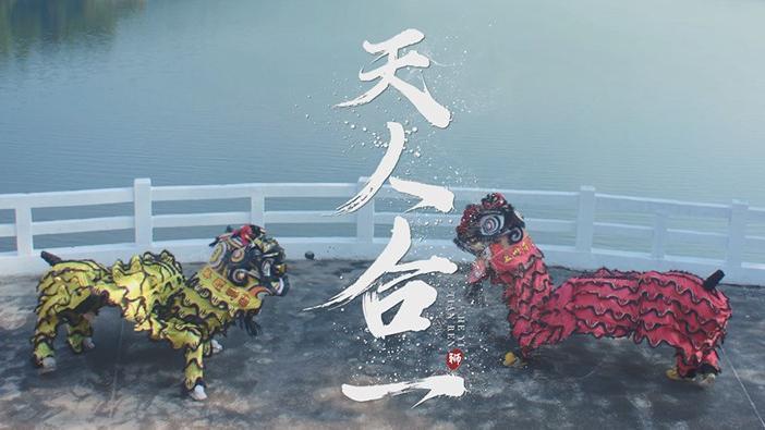 广东深圳黄连胜醒狮,荣获大奖无数,高难度动作全国第一无二