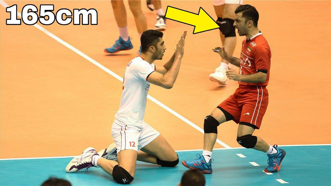 扎里夫!身高165的伊朗男排自由人!男子排坛最mini的主力球员!