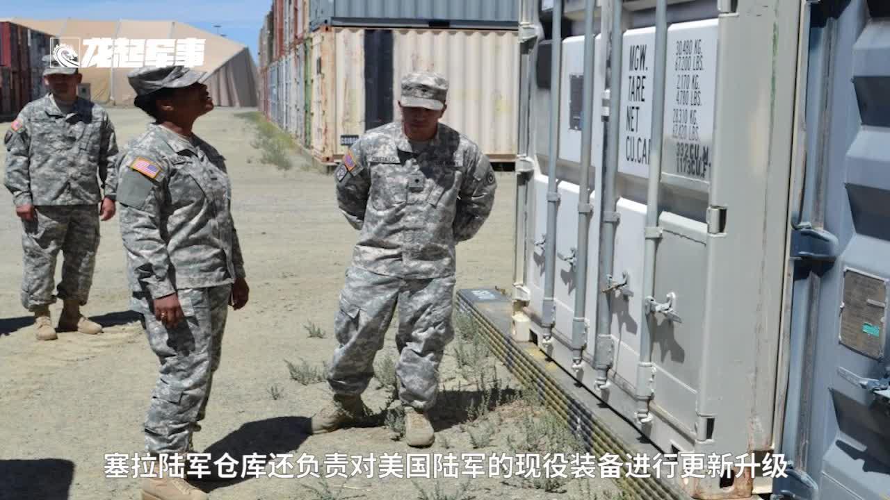 """美军军事实力有多强?除了""""飞机坟场""""外,这座仓库让人头皮发麻"""