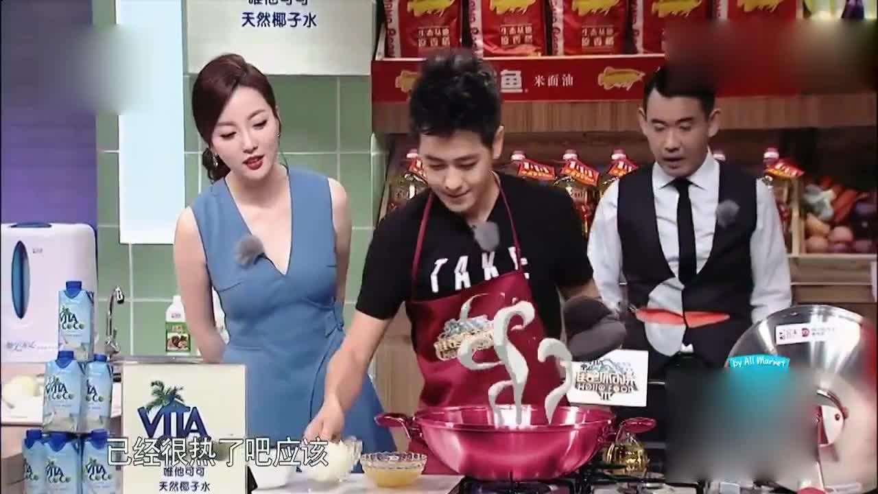 谁是你的菜超级奶爸林志颖下厨蛋包饭据说kimi超爱吃