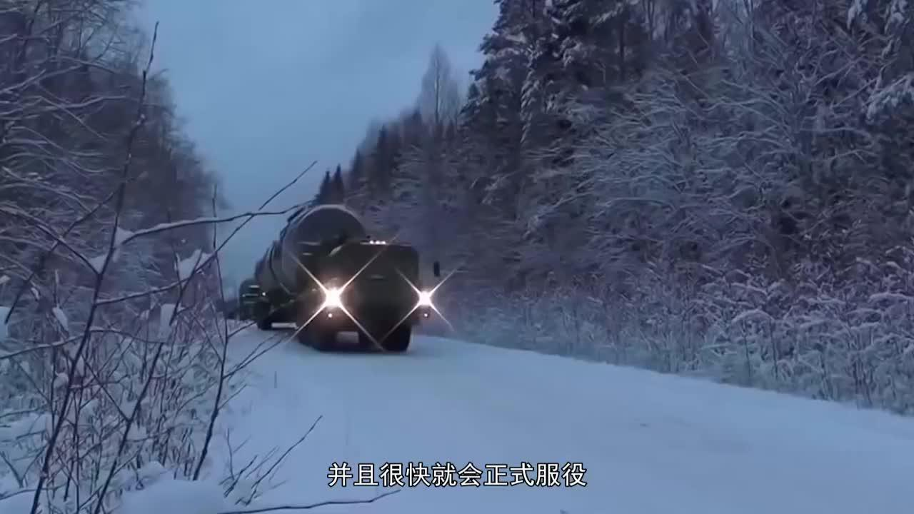 向美主动亮相新杀器,射程覆盖16000公里,40枚足以抹平北美